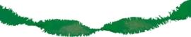 Crepe guirlande groen mt. 6 meter