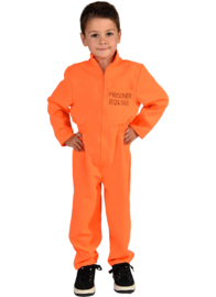 Prisoner kostuum boefje