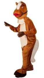 Paarden kostuum mascotte pro