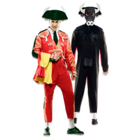 Kostuum double fun stirenvechter stier