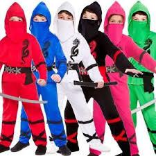 Power ninja kostuum rood