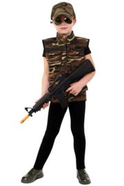 Camouflage vest luxe kinderen