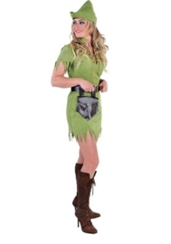 Robin hood jurkje groen