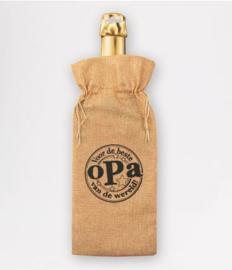 Bottle gift bag - Opa