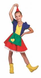 Kabouter meisje jurkje