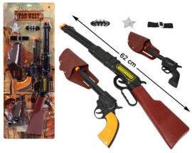 Western geweren set  | luxe compleet