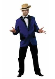 Colbert blauw OP=OP