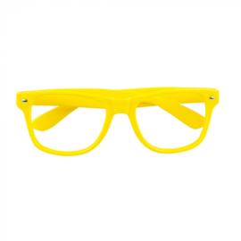 Partybril | neon geel