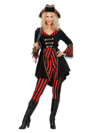 Pirate kostuum stripe