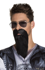 Baard biker zwart