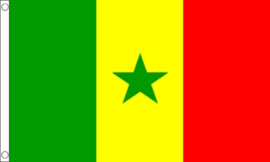 Vlag Senegal 90x150