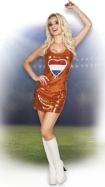 Hollands jurkje oranje hart