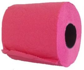 Pink toiletpapier