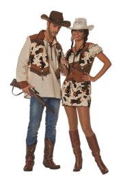 Cowboy vest Ringo deluxe