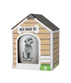 Dog mug - Labradoodle | Honden mok