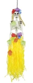 Skelet hangdeco hawaii 90 cm