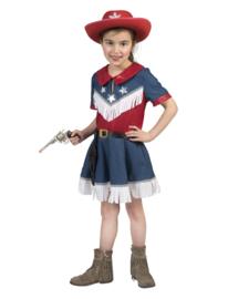 Cowgirl jeans jurkje meisje