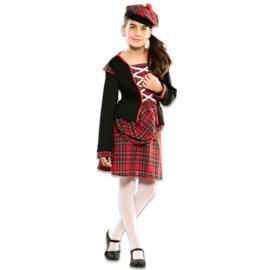 Schotse meisjes kostuum