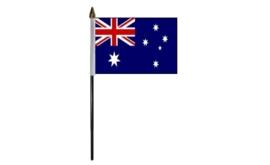 Tafelvlag Australie zwart