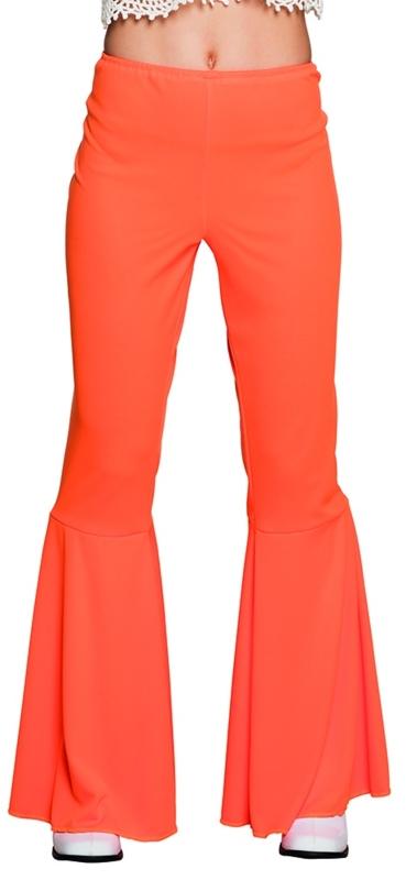 Disco broek oranje