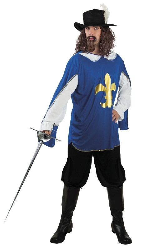 De drie musketiers kostuums