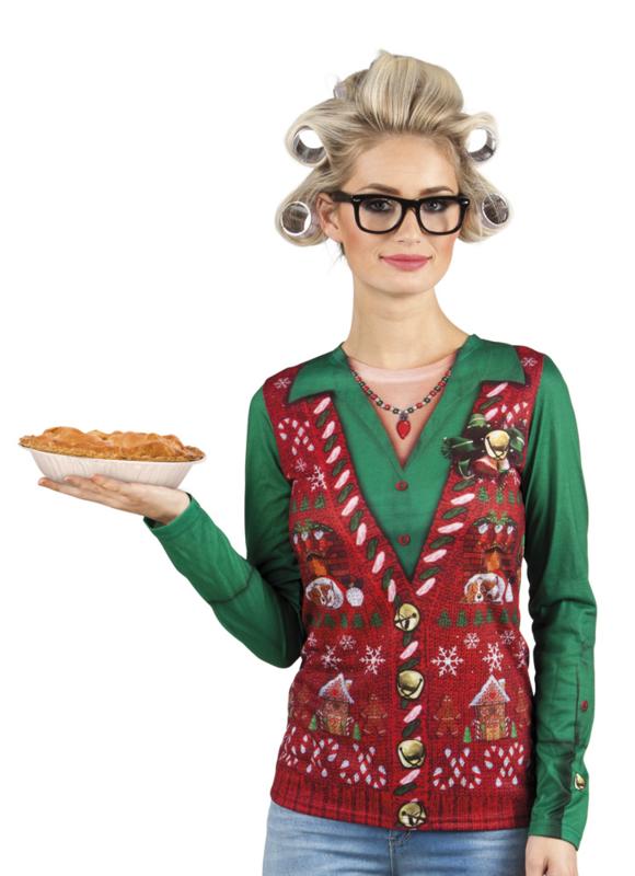 Kerst 3D T-shirt corny christmas