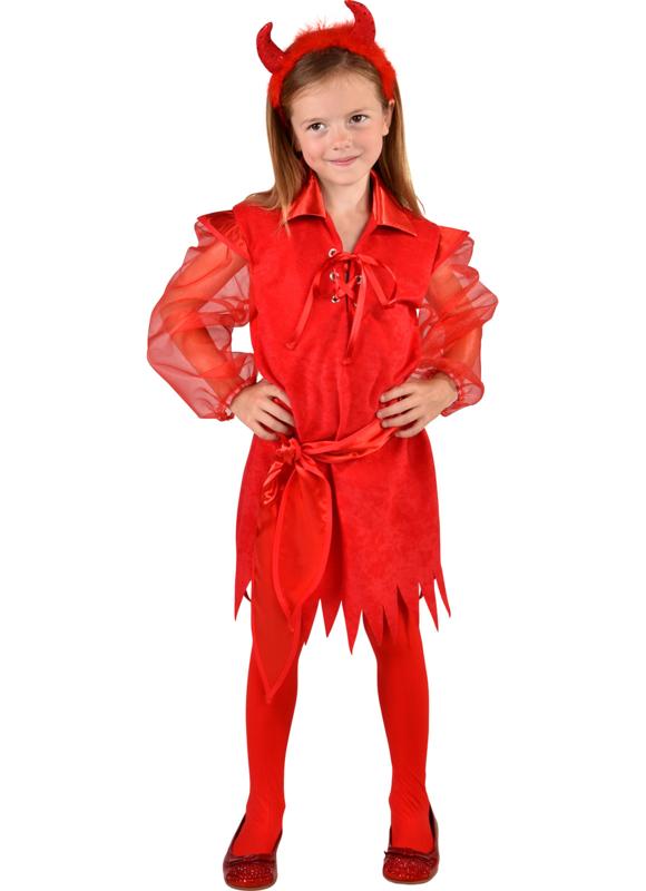 Duivels jurkje rood