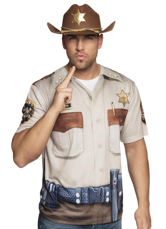 3D shirts Western Sheriff