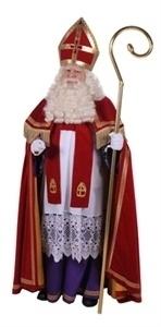 Acteur die Sinterklaas speelt
