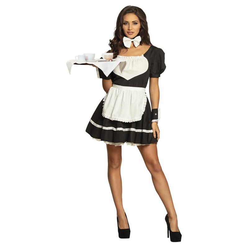Sexy serveersters jurkje | french maid