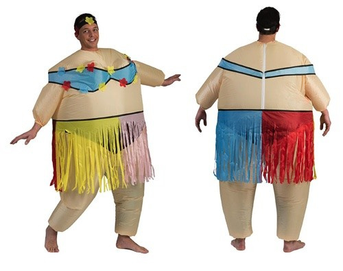 Onwijs Opblaasbaar hawaii kostuum | Feestkleding heren | Goedkope PC-04