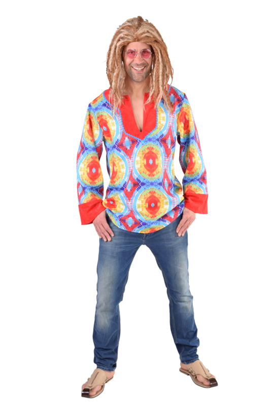 Hippie hemd batik