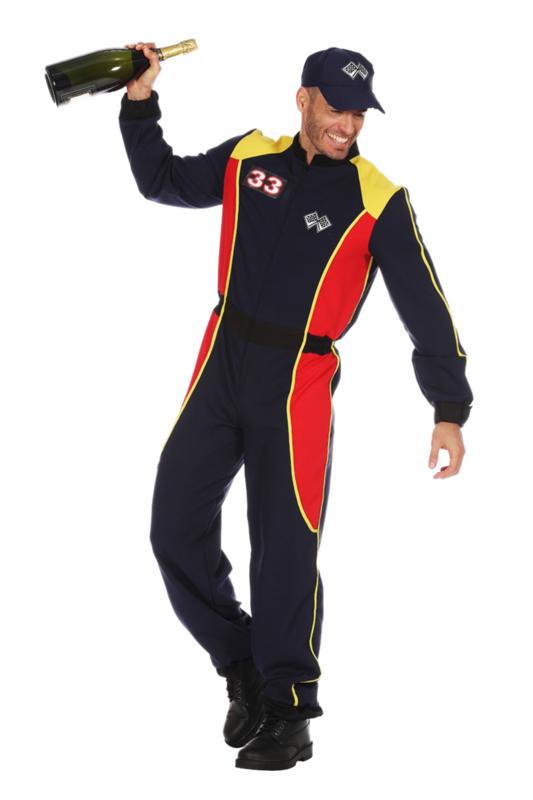 Fonkelnieuw Formule 1 race kostuum | Feestartikelen4u.nl QK-36