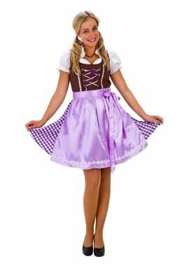 Dirndl jurk lila
