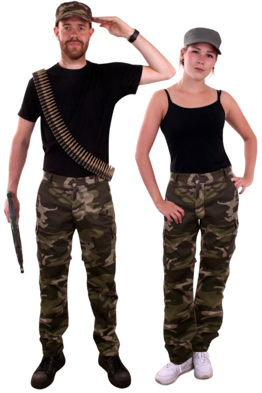 Leger Camouflage broek unisex
