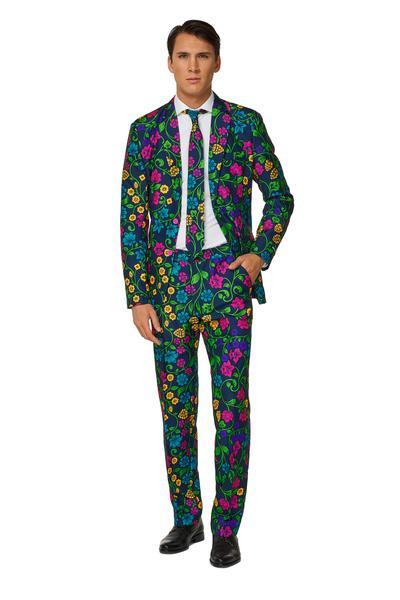 Floral suitmeister kostuum