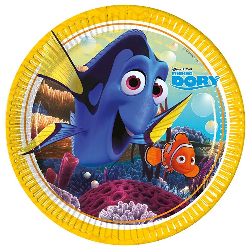 Finding dory bordjes