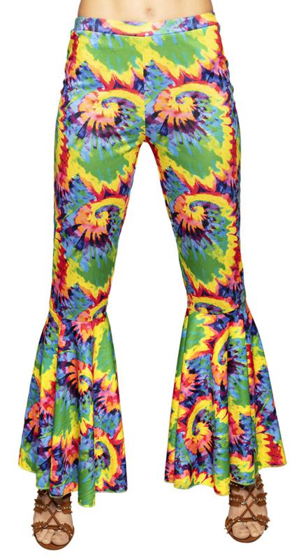 Verrassend Hippie broek wijde pijpen peace   Feestkleding dames   Goedkope RD-08