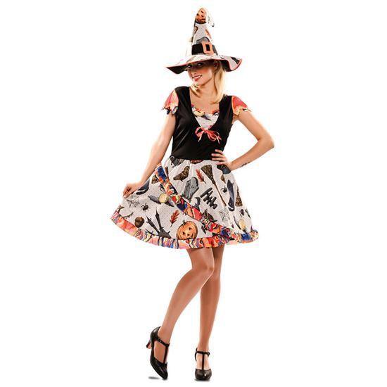 Heksen jurk funny