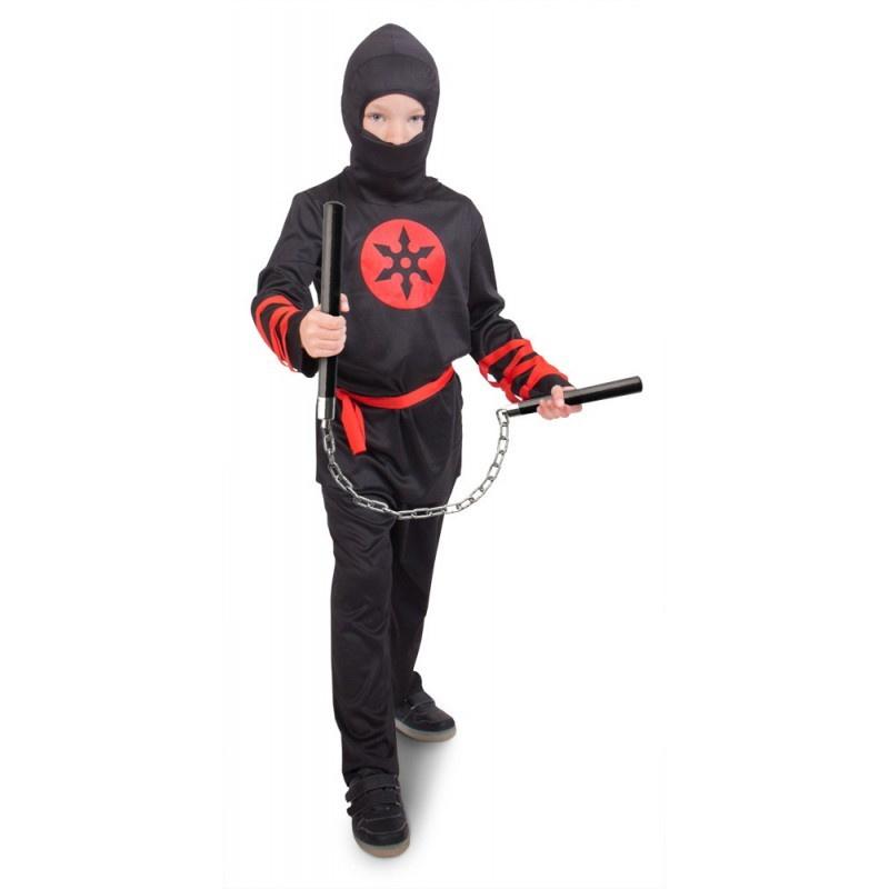 Ninja black kostuum