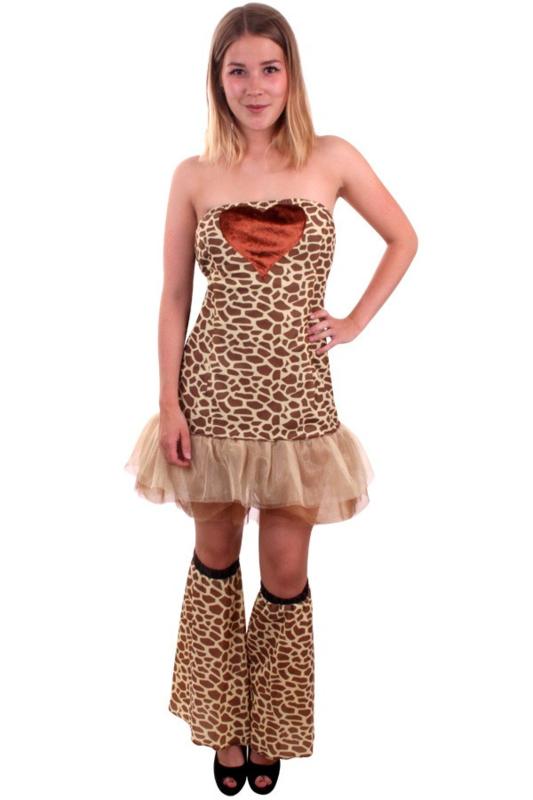 Giraffe jurkje luxe