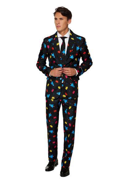 Videogame suitmeister kostuum