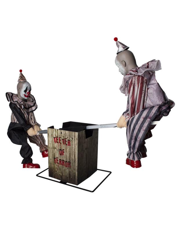 Wipwappende 2 clowns XL Deluxe