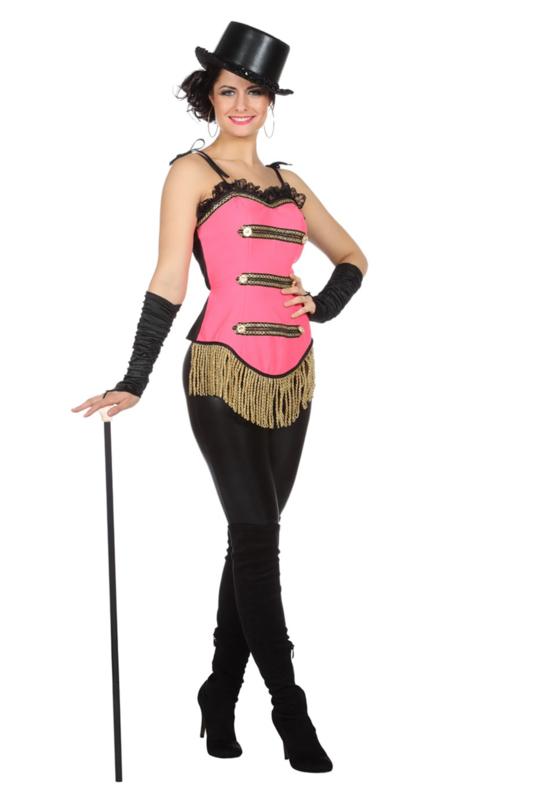 Circus corset pink