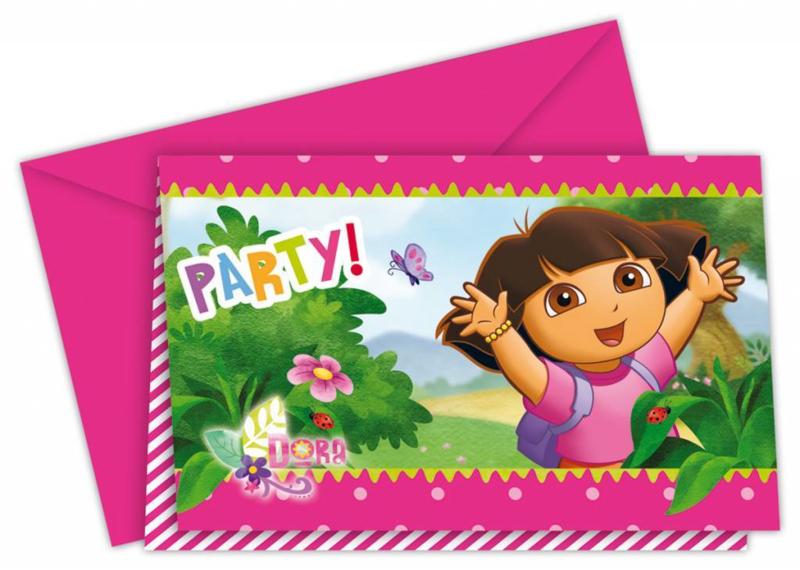 Dora uitnodigingen OP=OP