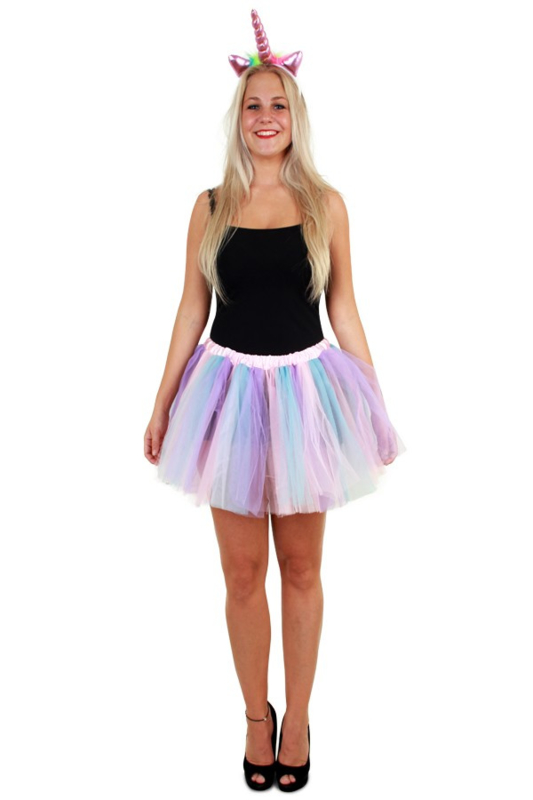 Wonderbaar Tule rokje pastel unicorn | Feestkleding dames | Goedkope RF-41