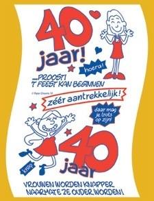 Wonderbaarlijk Toiletpapier - 40 jaar (vrouw) | Toiletpapier | Goedkope DD-06