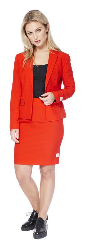 Ms. red opposuits kostuum