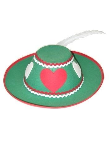 Tiroler hoed dames