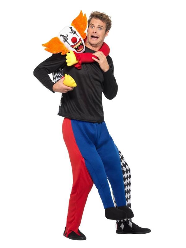 Piggybag kidnap clown kostuum